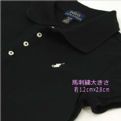 POLO by Ralph Lauren Girl's 半袖鹿の子ポロシャツ ピンク