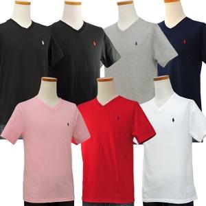 ラルフローレン ボーイズ 半袖 Vネック半袖Tシャツ