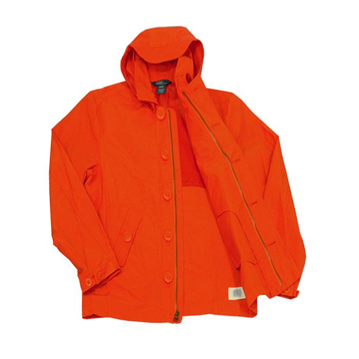 フード付ウイドブレーカー オレンジ