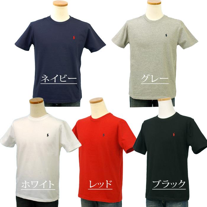 ラルフローレン 定番 半袖クルーTシャツ