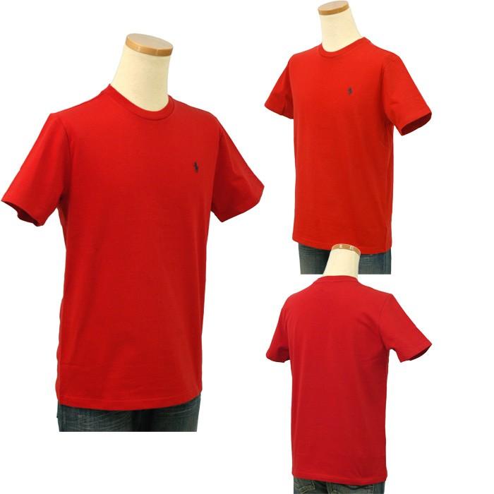 ラルフローレン 定番 半袖Tシャツ レッド