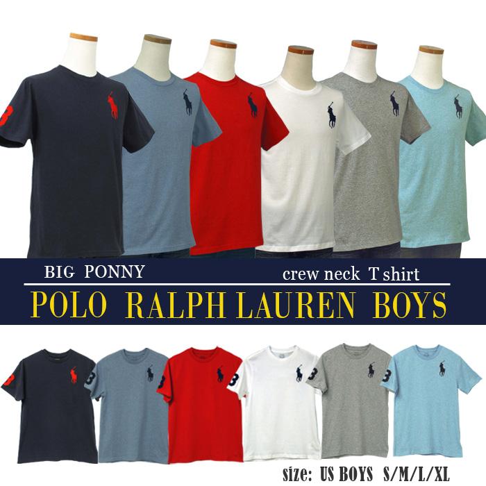 ポロ ラルフローレン ビッグポニー半袖Tシャツ