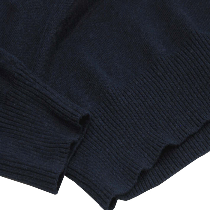 ラルフローレン ピマ コットン Vネック セーター 裾部分