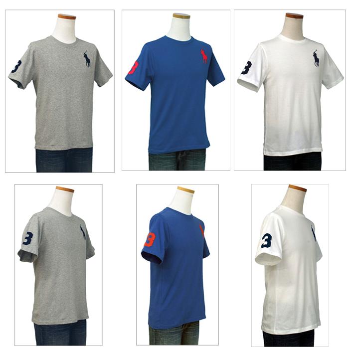 ラルフローレン ビッグポニー半袖Tシャツホワイトとネイビー