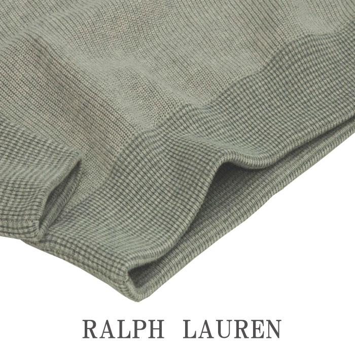 ラルフローレン ビッグポニー USA(カモフラ風)フラッグセーター グレー