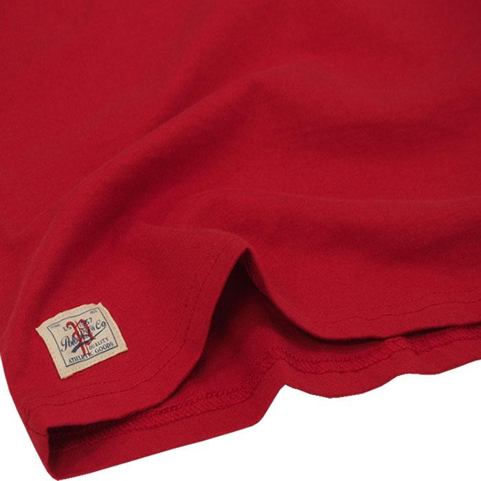 ラルフローレン POLOロゴプリント半袖ベースボールTシャツ裾部分拡大
