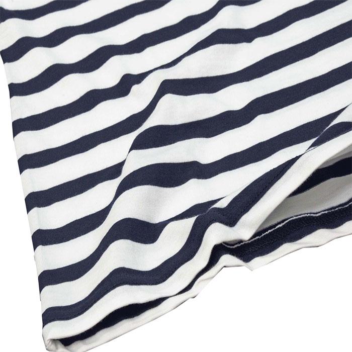 ラルフローレン ビッグポニー ボーダー半袖Tシャツ 裾部分
