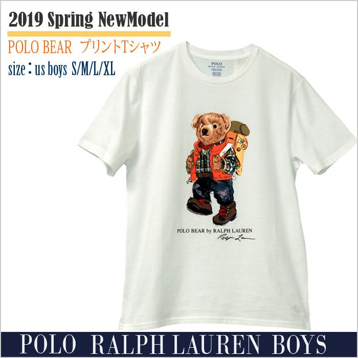 ラルフローレン キャンピング ベア コットン Tシャツ