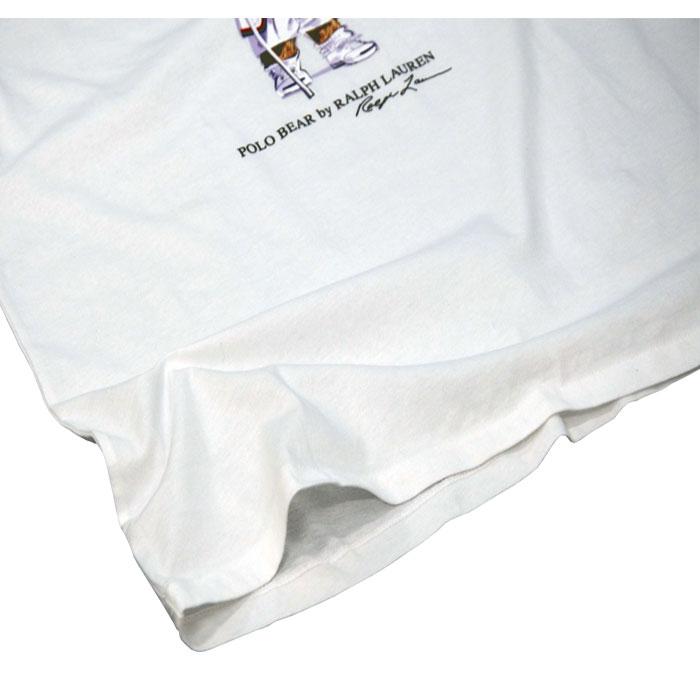 ラルフローレン コットン ポロベアー半袖Tシャツ裾拡大