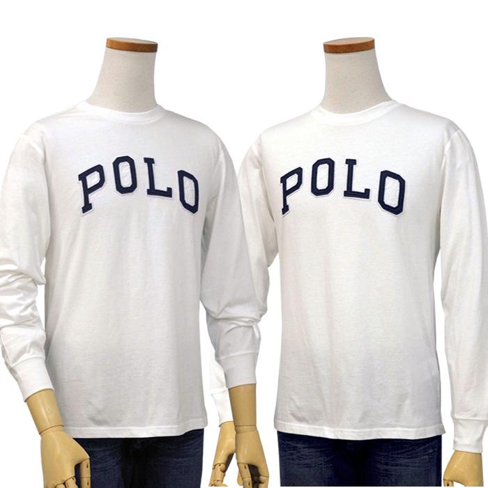 ラルフローレン コットン ジャージー POLOロゴ Tシャツホワイト