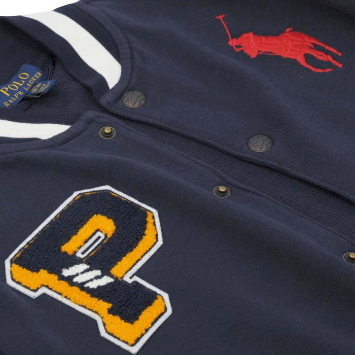 ラルフローレン ビッグポニーのスタジアムジャケット ビックポニー刺繍