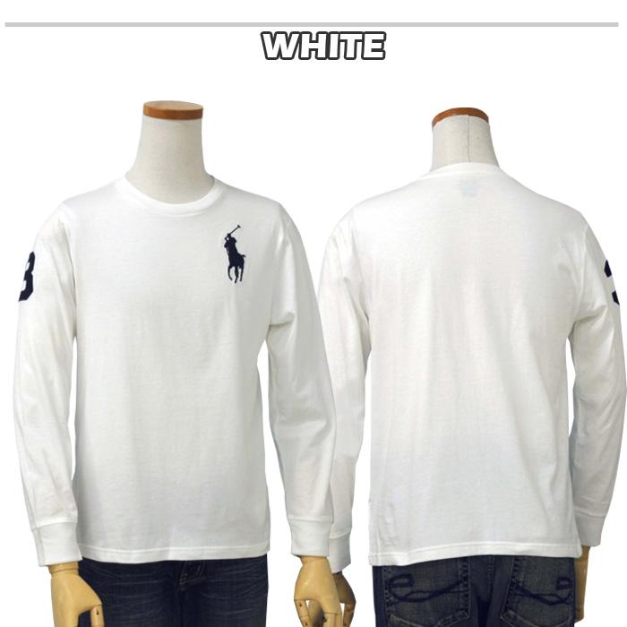 ラルフローレン bigpony長袖Tシャツ ホワイト