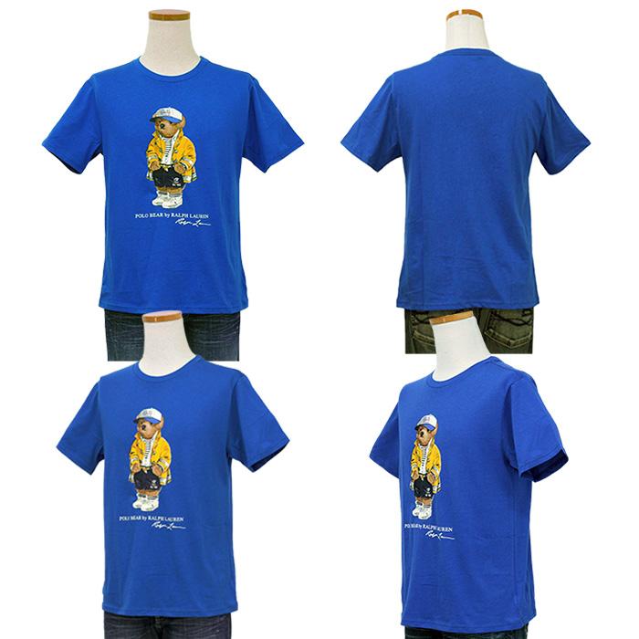 ラルフローレン ポロベア 半袖Tシャツ ブルー