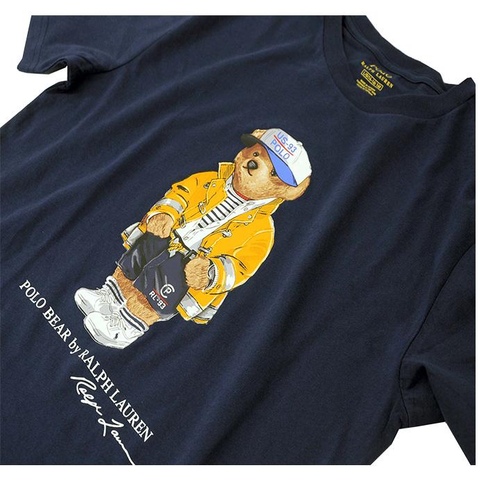 ラルフローレン ベアー半袖Tシャツ ネイビー