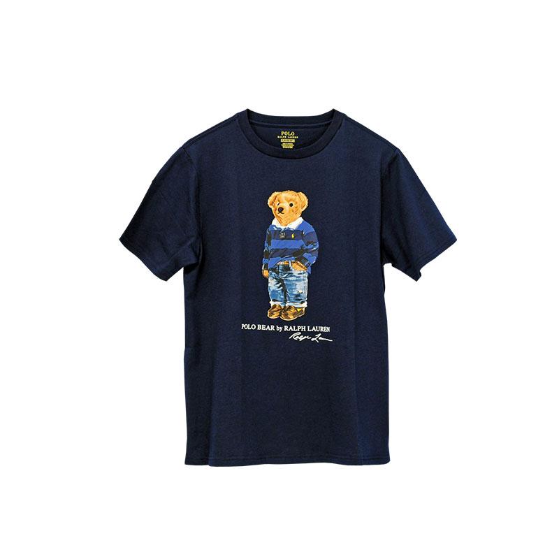 ラルフローレン ポロベアー 半袖Tシャツ ネイビー