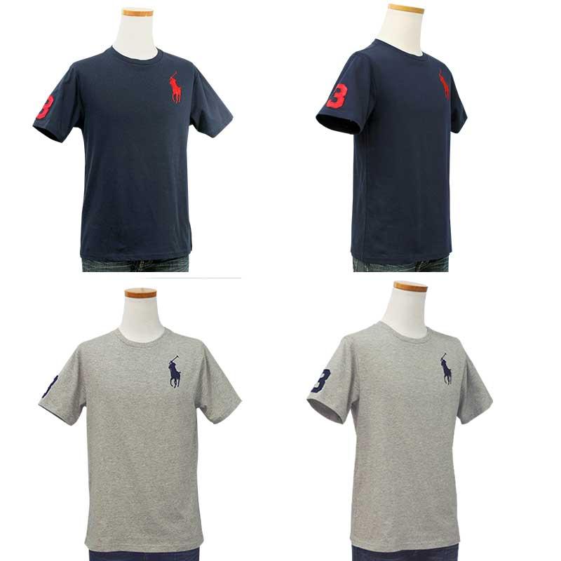 ラルフローレン ビッグポニー半袖Tシャツネイビーとグレー