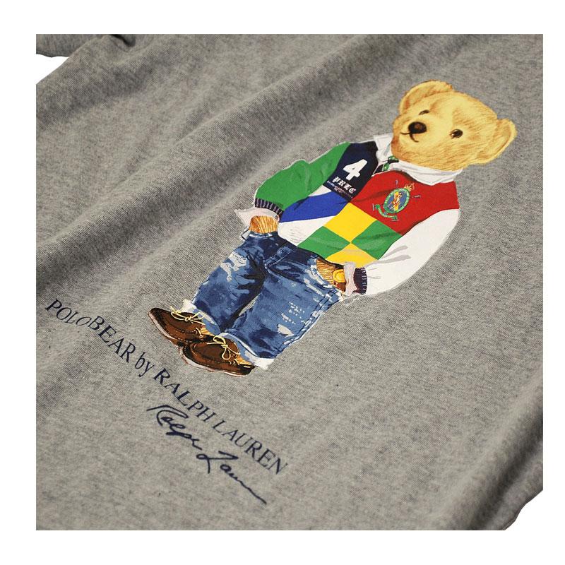 ラルフローレン ポロベア半袖Tシャツ グレー