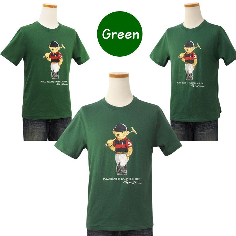 ラルフローレン ポロベア半袖Tシャツ グリーン
