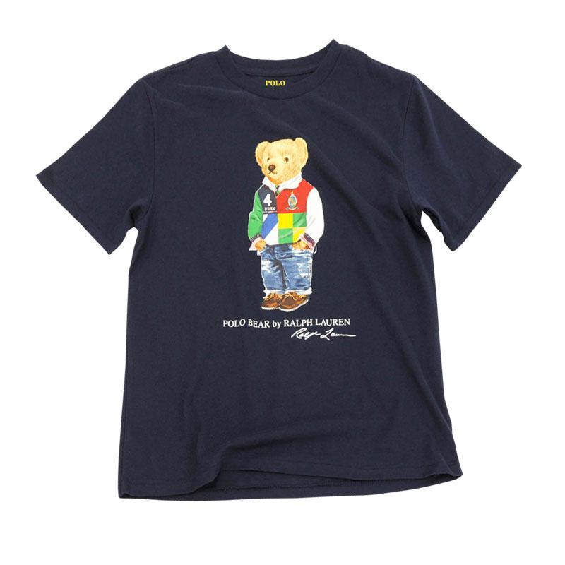 ラルフローレン ポロベア半袖Tシャツ ネイビー