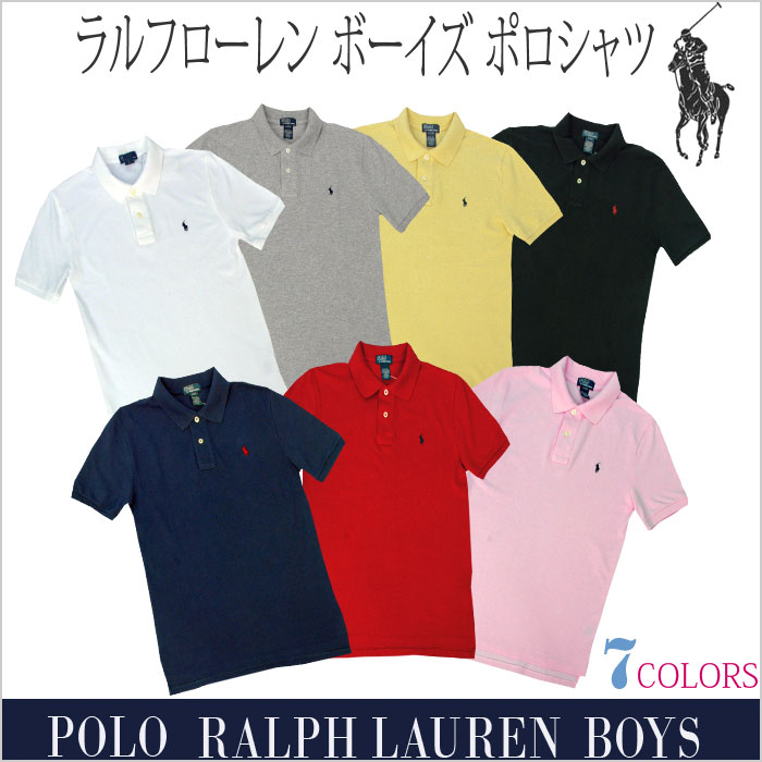 POLO ラルフローレン 半袖ポロシャツ