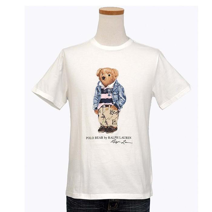 ラルフローレン ポロベア半袖コットンTシャツ ホワイト