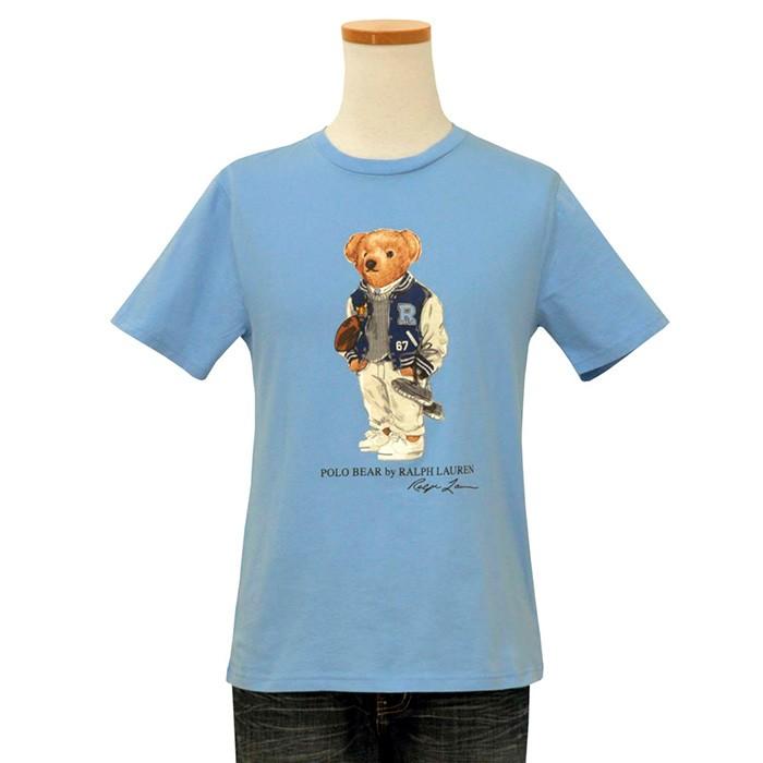 ラルフローレン ポロベア半袖Tシャツブルー