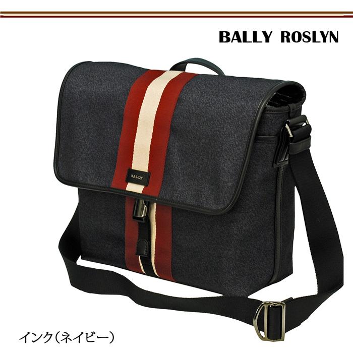 【BALLY】バリー Roslyn ショルダーバッグ ネイビー