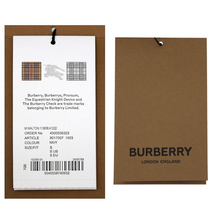 バーバリー 半袖ポロシャツ 商品タグ(8017003)