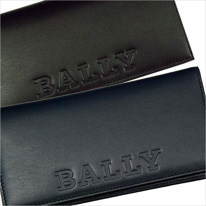 【BALLY】バリー BALIRO BOLD レザー BALLYの型押し長財布 ギフトボックス入り