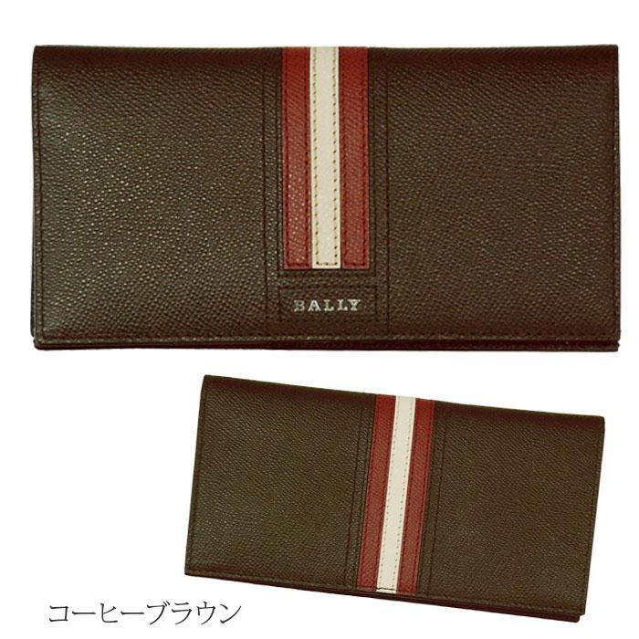 【BALLY】バリー TALIRO レザー ウォレットコーヒーブラウン ギフトボックス入り