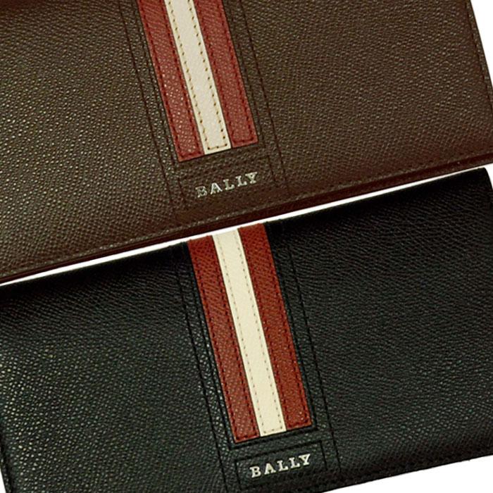 【BALLY】バリー TALIRO レザー ウォレット ギフトボックス入り ブラック ブラウン