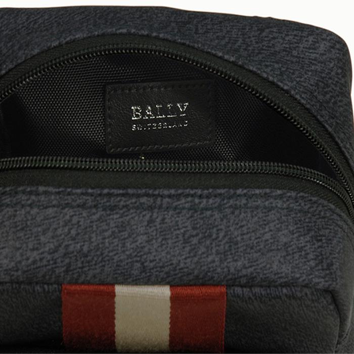 【BALLY】バリー skyller クロスボディバッグ ネイビー