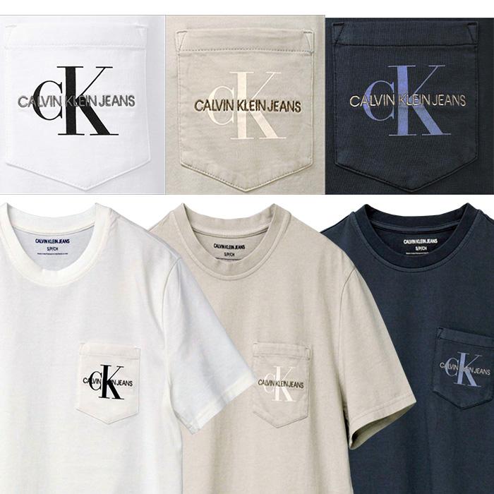 カルバンクライン  CKロゴ半袖Tシャツ