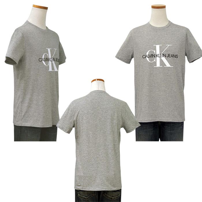 カルバンクライン  CKロゴ半袖Tシャツ ブラック