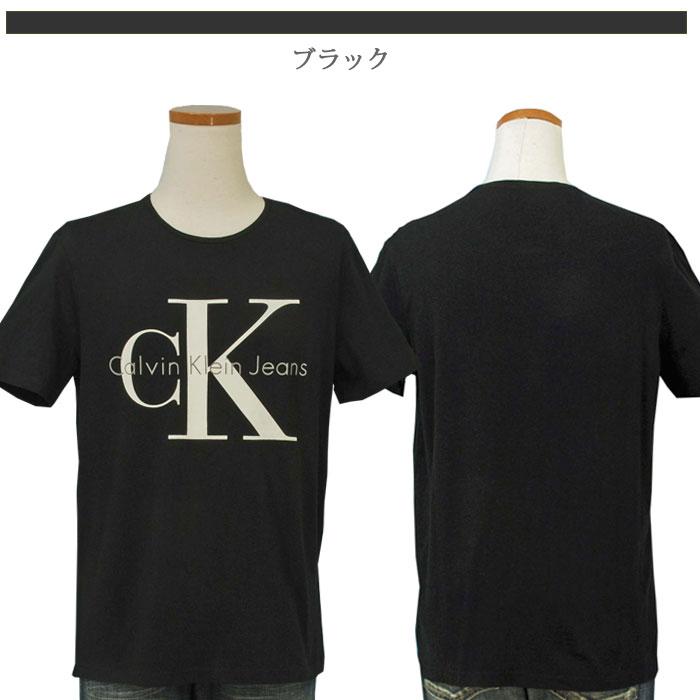カルバンクライン  CKロゴ半袖Tシャツブラック