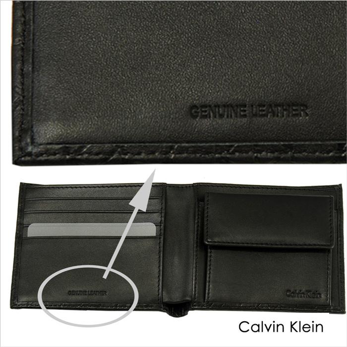 Calvin Klein CKリピート柄 二つ折り 財布、ギフトボックス入り