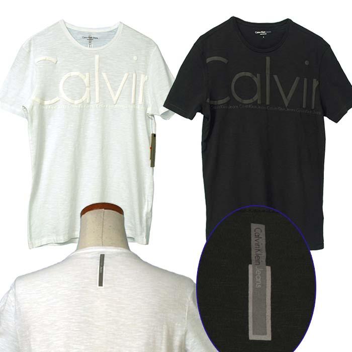 カルバンクライン  CKオーバーサイズロゴ プリント半袖Tシャツ