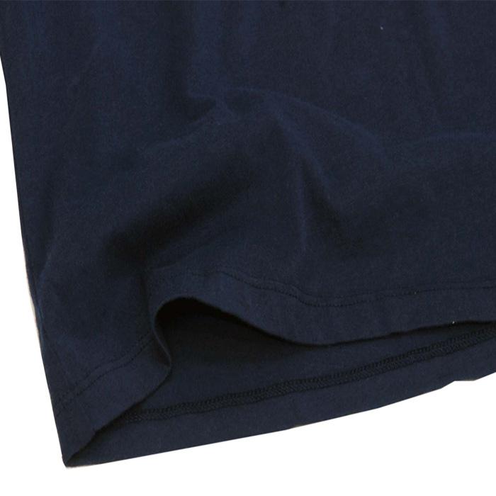 ラルフローレン ガールズ USフラッグ キャップスリーブTシャツ 裾部分
