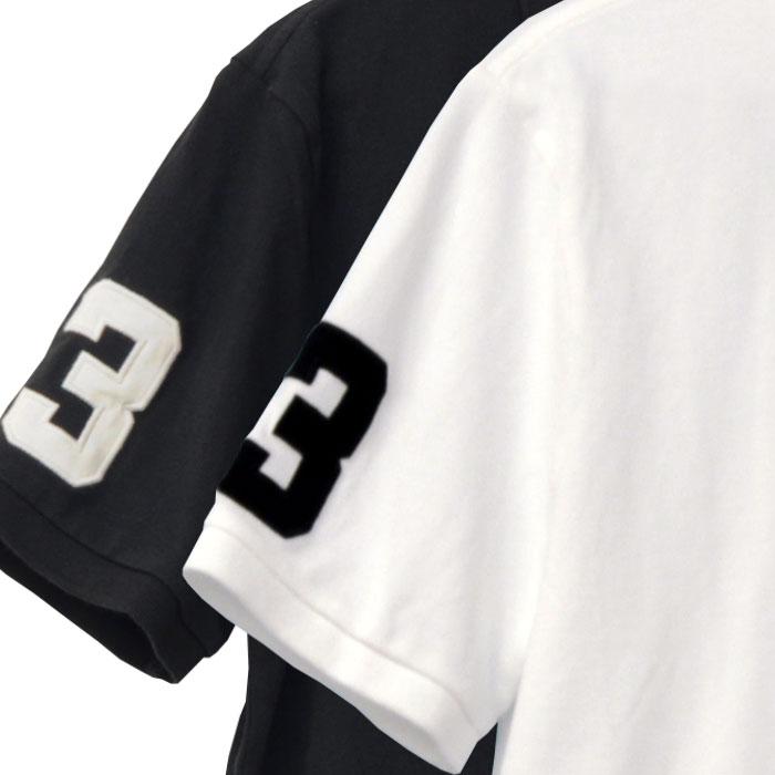 POLO ラルフローレン メンズ ビッグポニー半袖ポロシャツ右袖部分の3