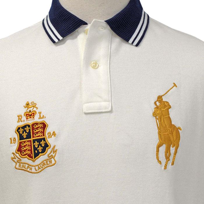 ラルフローレン メンズ ビッグポニー半袖 ポロシャツ シャツ ポニー刺繍の拡大