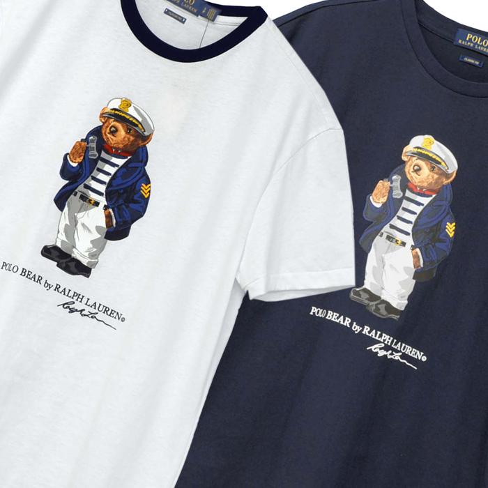 ラルフローレン メンズ キャプテンベアーTシャツ