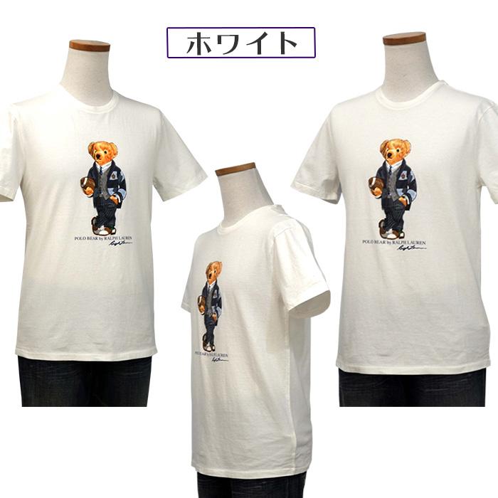 ラルフローレン ベア 半袖Tシャツ 白