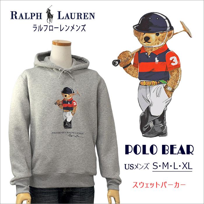 ラルフローレン メンズ Polo ベア フリース フーディ
