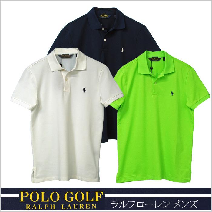 ラルフローレン 半袖ポロシャツ ホワイト ネイビ グリーン