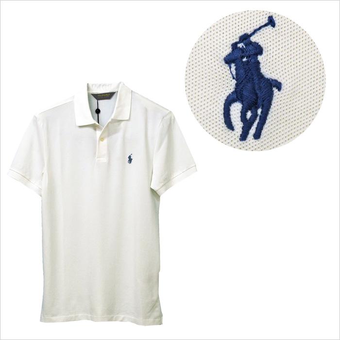 ラルフローレン メンズ POLO Golf 半袖 ポロシャツ ホワイト