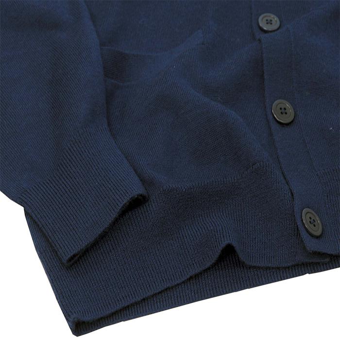 ポロ ゴルフ ラルフローレン ミドルポニーメリノウールカーディガン 裾部分