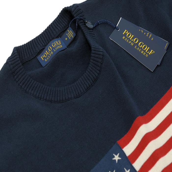 POLO ラルフローレン メンズ USAフラッグセーター