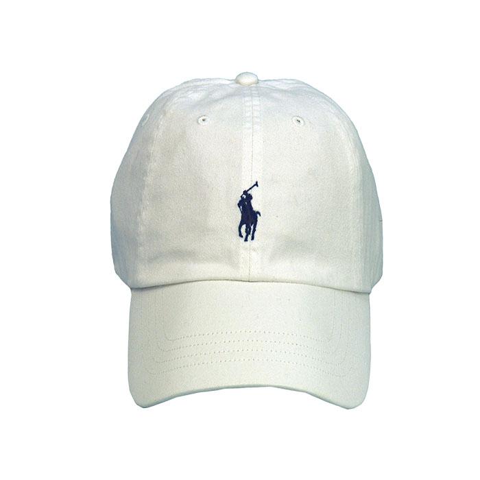 ポロ ラルフロ-レン ベースボールキャップ ホワイト