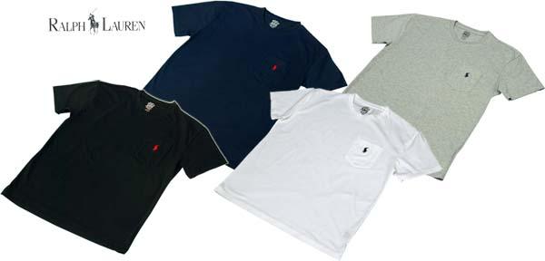 ラルフローレン ポケット付 半袖 Tシャツ