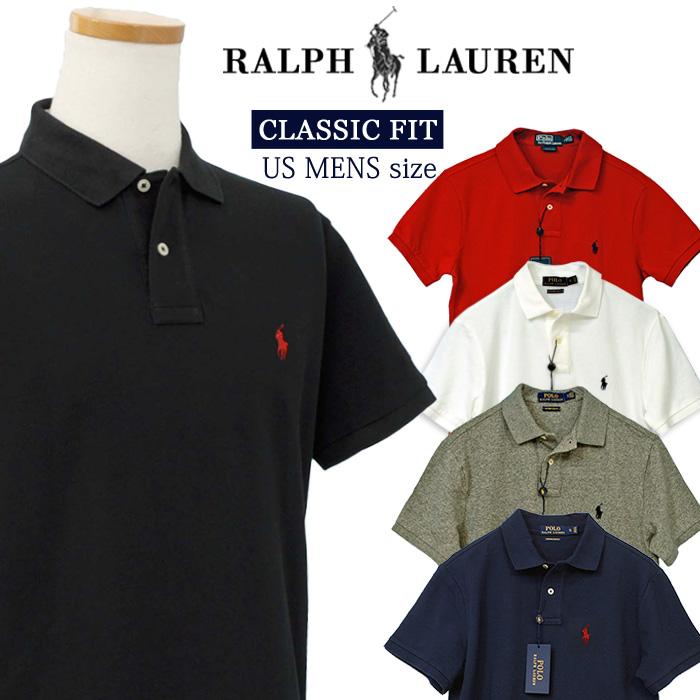 ラルフローレン CLASSIC FIT 半袖 鹿の子 ポロシャツ